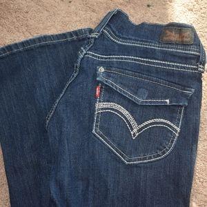 Levi low cut jeans